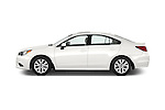 Car Driver side profile view of a 2015 Subaru Legacy 2.5i Premium 4 Door Sedan Side View