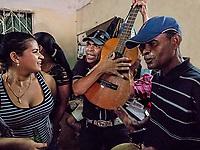 A birthday party for three people, Vedado, La Habana