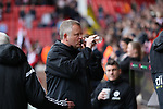 Chris Wilder manager of Sheffield Utd during the Championship match at Bramall Lane Stadium, Sheffield. Picture date 16th September 2017. Picture credit should read: Jamie Tyerman/Sportimage