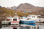 Tasiilaq Harbor Greenland