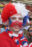 12 June 2006: A Czech Republic fan. The United States played the Czech Republic at Veltins Arena in Gelsenkirchen, Germany in match 10, a Group E first round game, of the 2006 FIFA World Cup.