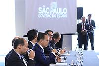 SÃO PAULO, SP, 05.02.2019: POLÍTICA-SP: João Doria, Governador de São Paulo, anuncia pacote de medidas para o setor de transporte aéreo, no Palácio dos Bandeirantes, nesta terça-feira, 5. ( Foto: Charles Sholl/Brazil Photo Press)