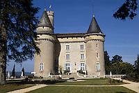 Europe/France/Midi-Pyrénées/46/Lot/Vallée du Lot/Env de Cahors/Mercuès: Le château de Mercuès