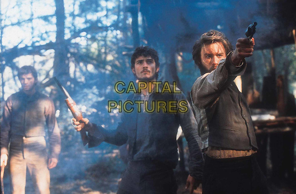 PHILIP BARANTINI, ORLANDO BLOOM & HEATH LEDGER.in Ned Kelly.Filmstill - Editorial Use Only.Ref: FB.www.capitalpictures.com.sales@capitalpictures.com.Supplied by Capital Pictures