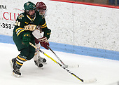 Saana Valkama (UVM - 24), Kali Flanagan (BC - 10) -  The Boston College Eagles defeated the University of Vermont Catamounts 4-3 in double overtime in their Hockey East semi-final on Saturday, March 4, 2017, at Walter Brown Arena in Boston, Massachusetts.