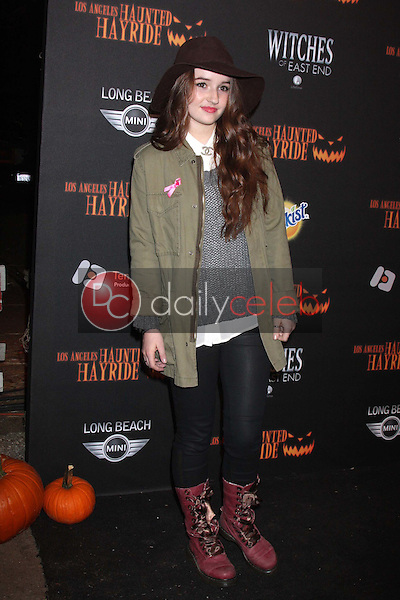 Kaitlyn Dever<br /> at the 8th Annual LA Haunted Hayride Premiere Night, Griffith Park, Los Angeles, CA 10-10-13<br /> David Edwards/DailyCeleb.Com 818-249-4998