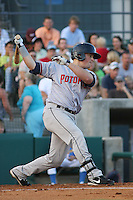 Potomac Nationals Bill Rhinehart at bat during a game vs. the Myrtle Beach Pelicans at BB&T Coastal Field in Myrtle Beach, SC, on June 15, 2010.  Photo By Robert Gurganus/Four Seam Images
