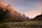 The Sentinel at Zion National Park, Utah