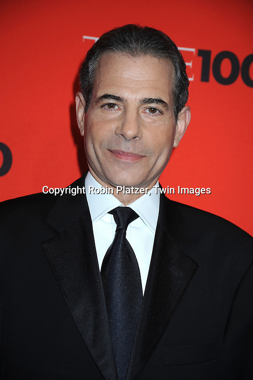Time Editor Rick Stengel posing for photographers at the Time Celebrates the Time100 Issue Gala on May 4, 2010 at The Time Warner Center in New York City. The magazine celebrates the 100 Most Influential People in the World.