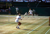 BORIS BECKER (GERMANY)<br /> WIMBLEDON 1985<br /> <br /> COPYRIGHT MICHAEL COLEBoris Becker (Germany)<br /> Copyright Michael Cole