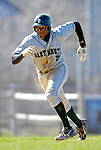24 April 2007: Dartmouth College Big Green Damon Wright, a Junior from Dallas, TX, in action against the University of Vermont Catamounts at Historic Centennial Field, in Burlington, Vermont...Mandatory Photo Credit: Ed Wolfstein Photo