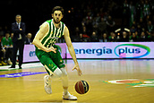 7th January 2018, San Pablo Sports Municipal Palace, Seville, Spain; Endesa League Basketball, Real Betis Energia Plus versus FC Barcelona Lassa; Ryan Kelly brings the ball foward