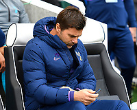 Tottenham Hotspur Manager Mauricio Pochettino deep in thought during Brighton & Hove Albion vs Tottenham Hotspur, Premier League Football at the American Express Community Stadium on 5th October 2019