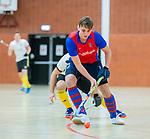 Almere - Zaalhockey  SCHC-Victoria (5-7)   . Thijs van Pelt (SCHC)  . TopsportCentrum Almere.    COPYRIGHT KOEN SUYK