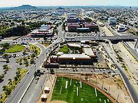 Paisaje urbano, paisaje de la ciudad de Hermosillo, Sonora, Mexico. Hotel Colonial.<br /> <br /> Urban landscape, landscape of the city of Hermosillo, Sonora, Mexico.<br /> (Photo: Luis Gutierrez /NortePhoto)