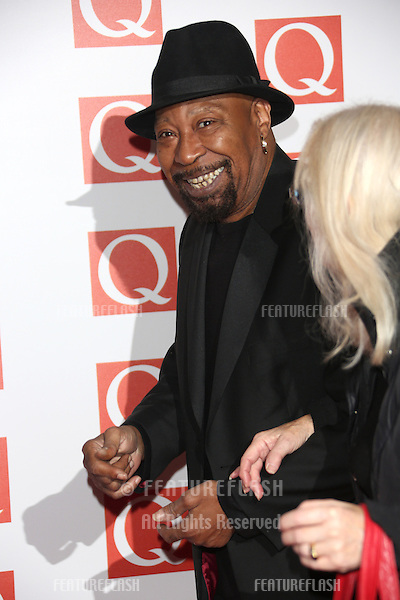 Geno Washington arriving for The Q Awards 2012 held at the Grosvenor Hotel, London. 22/10/2012 Picture by: Henry Harris / Featureflash