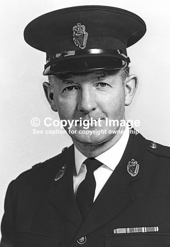 Charles Rodgers, Assistant Chief Constable, RUC, Royal Ulster Constabulary, N Ireland, 197503050555a<br />
