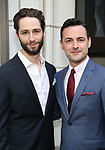 Daniel Rowan and Max von Essen attends the Broadway Opening Night performance of 'The Prince of Broadway' at the Samuel J. Friedman Theatre on August 24, 2017 in New York City.