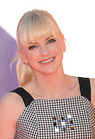 WWW.BLUESTAR-IMAGES.COM  Actress Anna Faris arrives at the Los Angeles premiere of 'The Lego Movie' held at Regency Village Theatre on February 1, 2014 in Westwood, California.<br /> Photo: BlueStar Images/OIC jbm1005  +44 (0)208 445 8588