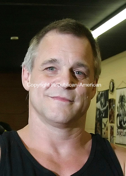 WATERBURY, CT 7/2/07- 070207BZ04- Ron Kosakowski, of Prospect, owner/instructor of Practical Self Defense in Waterbury.<br /> Jamison C. Bazinet Republican-American