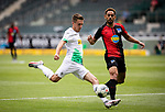 Patrick Herrmann (Bor. Moenchengladbach) zieht ab im Spiel.<br /><br />27.06.2020, Fussball, 1. Bundesliga, Saison 2019/20, 34. Spieltag, Borussia Moenchengladbach - Hertha BSC Berlin, <br /><br />Foto: MORITZ MUELLER/POOL/via/Meuter/Nordphoto<br />Only for Editorial use