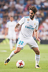 "Real Madrid's Francisco Roman ""Isco"" during XXXVIII Santiago Bernabeu Trophy at Santiago Bernabeu Stadium in Madrid, Spain August 23, 2017. (ALTERPHOTOS/Borja B.Hojas)"