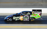 Apr. 13, 2012; Concord, NC, USA: NHRA funny car driver Bob Bode during qualifying for the Four Wide Nationals at zMax Dragway. Mandatory Credit: Mark J. Rebilas-