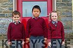 Kilconly NS: Mis Horgan's junior class at Kilconly NS, Ballybunion . L-R : Tiernan O'Carroll, Jimmy Shi & Cienna Flahive.