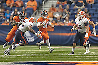 SAN ANTONIO, TX - OCTOBER 22, 2016: The University of Texas at El Paso Miners defeat the University of Texas at San Antonio Roadrunners 52-49 in quintuple overtime at the Alamodome. (Photo by Jeff Huehn)