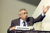 """Dr. Severino Antinori,  Director,  International Associated Research Institute, appears on a panel on the """"Scientific and Medical Aspects of Human Cloning"""" in Washington, DC on August 7, 2001 in Washington, DC on August 7, 2001.<br /> Credit: Ron Sachs / CN"""