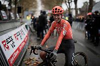Pauliena Rooijakkers (NED/CCC) post-race<br /> <br /> Jaarmarktcross Niel 2019 (BEL)<br /> <br /> ©kramon