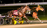 AUGUST 31, 2019 : , American Mercury driven by Tyler Butler, wins the $500,000 Messenger Stakes for 3 year old pacers, at Yonkers Raceway, on August 31, 2019 in Yonkers, NY.  Sue Kawczynski_ESW_CSM