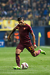 Emerson of AS Roma kicks the ball during the match Villarreal CF vs AS Roma during their UEFA Europa League 2016-17 Round of 32 match at the Estadio de la Cerámica on 16 February 2017 in Villarreal, Spain. Photo by Maria Jose Segovia Carmona / Power Sport Images