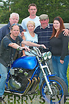 At the launch of the chopper motor bicycle day in Lisselton on Tuesday evening were Matt waltz on Bicycle with Tom Hegarty, Charmaine Murphy, Con Joe Barry, Robert Porter and Pauline Hegarty.   Copyright Kerry's Eye 2008