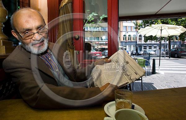 BRUSSELS - BELGIUM - 13 JUNE 2007 -- Hasane El QUARTIT lives in Anderlecht, the Arab quarter of Brussels. -- PHOTO: JUHA ROININEN / EUP-IMAGES