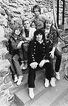 HEART 1982  Nancy Wilson, Mark Andes, Ann Wilson, Danny Carmassi, Howard Leese. at Edinburgh Castle