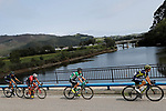 Part of the 20 man breakaway group during Stage 18 of the 2017 La Vuelta, running 169km from Suances to Santo Toribio de Li&eacute;bana, Spain. 7th September 2017.<br /> Picture: Unipublic/&copy;photogomezsport | Cyclefile<br /> <br /> <br /> All photos usage must carry mandatory copyright credit (&copy; Cyclefile | Unipublic/&copy;photogomezsport)