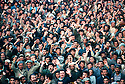 Iran 1979.Kurds of Mahabad listening to the speech of Abdul Rahman Ghassemlou