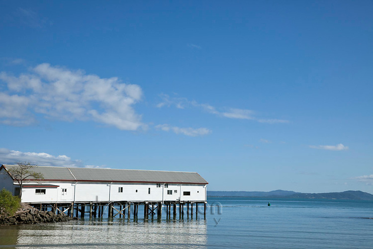 The historic Sugar Wharf on Dickson Inlet.  Port Douglas, Queensland, Australia