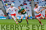 Stephen O'Brien, Kerry in action against Rory Brennan, Tyrone during the All Ireland Senior Football Semi Final between Kerry and Tyrone at Croke Park, Dublin on Sunday.