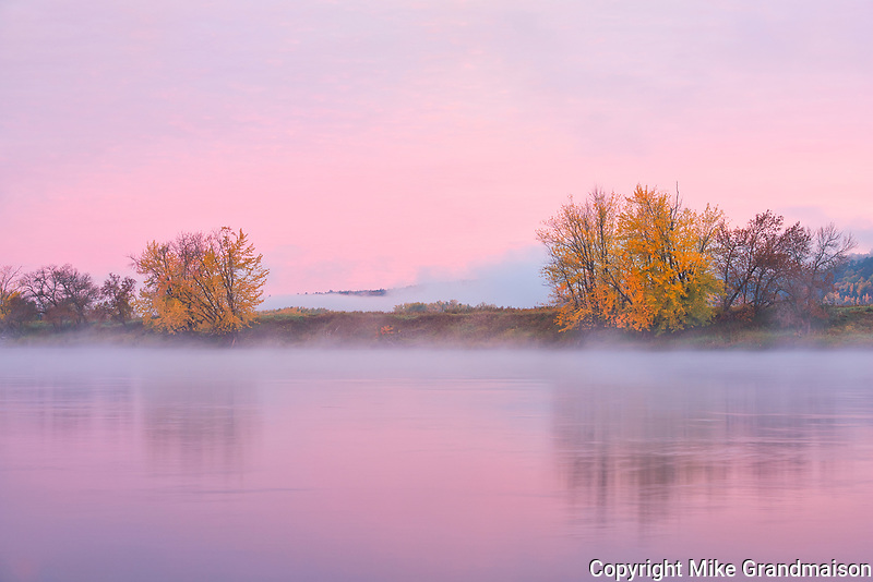The Saint John River at sunrise<br />