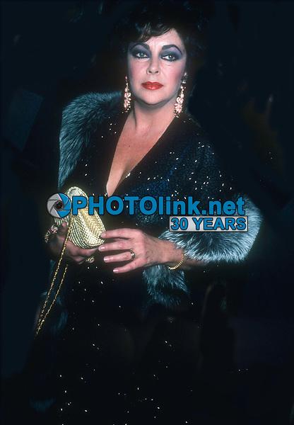 Elizabeth Taylor 1980<br /> Photo By John Barrett/PHOTOlink.net