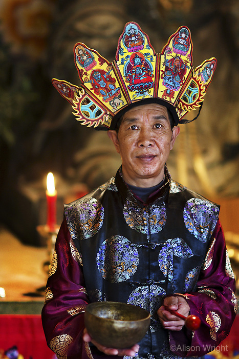 Priest in Lijiang, China