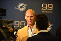 MIAMI GARDENS, FL - DECEMBER 02: Jason Taylor attends The Miami Dolphins 'Hall of Fame Celebration' hosting Jason Taylor at Hard Rock Stadium on December 02, 2017 in Miami Gardens, Florida. Credit: MPI10 / MediaPunch
