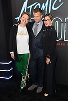 El&iacute;sabet Ronaldsdottir &amp; David Leitch &amp; Kelly McCormick at the premiere for &quot;Atomic Blonde&quot; at The Theatre at Ace Hotel, Los Angeles, USA 24 July  2017<br /> Picture: Paul Smith/Featureflash/SilverHub 0208 004 5359 sales@silverhubmedia.com