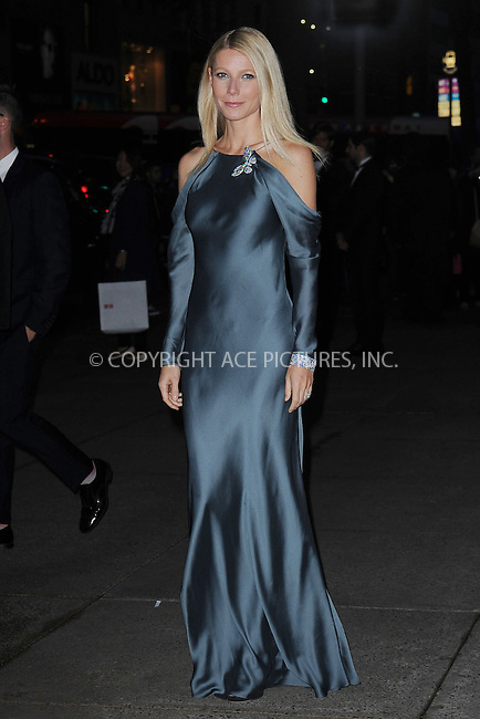 WWW.ACEPIXS.COM . . . . . .April 18, 2013...New York City....Gwyneth Paltrow at the Tiffany & Co. 2013 Blue Book Collection Ball at Rockefeller Center on April 18, 2013 in New York City ....Please byline: KRISTIN CALLAHAN - ACEPIXS.COM.. . . . . . ..Ace Pictures, Inc: ..tel: (212) 243 8787 or (646) 769 0430..e-mail: info@acepixs.com..web: http://www.acepixs.com .