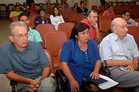 Familiares acompanham o julgamento do  fazendeiro José Edmundo Ortiz Vergolino, de 70 anos, acusado de ser o mandante da 'Chacina da Fazenda Ubá', na qual oito trabalhadores rurais foram assassinados.O julgamento acontece no Tribunal do Júri do Fórum da Comarca de Belém do Pará.<br /> Em 1985, oito trabalhadores rurais foram assassinados por um grupo de pistoleiros armados, na Fazenda Ubá, localizada no município de São João do Araguaia, próximo a Marabá, no Sudeste Paraense. O crime ocorreu na região do Bico do Papagaio, conhecida como uma das mais violentas do campo brasileiro. <br /> Foto:Lucivaldo Sena/ Interfoto<br /> Data:11/12/2006<br /> Belém-Pará-Brasil