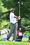Bethesda, MD - June 26, 2016: Vijay Singh (FIJ) tees off on hole two during Final Round of play at the Quicken Loans National Tournament at the Congressional Country Club in Bethesda, MD, June 26, 2016. (Photo by Philip Peters/Media Images International)