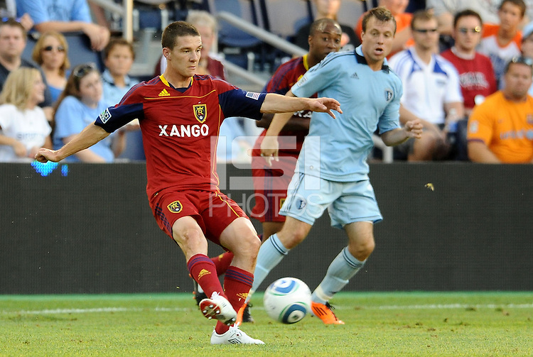 Will Johnson Real Salt Lake midfielder in action... Sporting Kansas City defeated Real Salt Lake 2-0 at LIVESTRONG Sporting Park, Kansas City, Kansas.