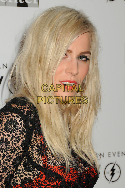"Natasha Bedingfield.LA Gay & Lesbian Center's ""An Evening With Women"" 2013 held at the Beverly Hilton Hotel, Beverly Hills, California, USA, 18th May 2013..portrait headshot makeup side black lace red skirt bra see thru through .CAP/ADM/BP.©Byron Purvis/AdMedia/Capital Pictures"
